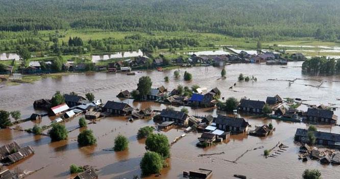 روس میں بارشیں اور سیلاب، 5 افراد ہلاک