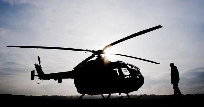 جرمنی میں فوجی ہیلی کاپٹر گرکر تباہ، پائلٹ ہلاک