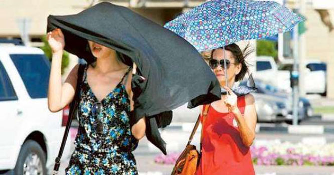 خلیجی ممالک شدید گرمی کی لپیٹ میں آ گئے، حکام کی جانب سے وارننگ جاری کر دی گئی