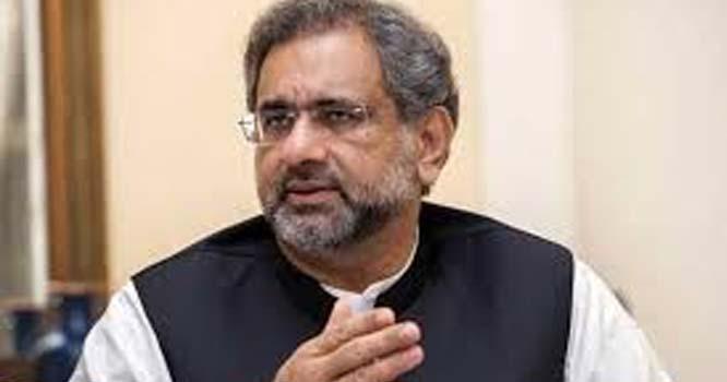 اداروں کو بلیک میل نہیں کرنا چاہتے ، شاہد خاقان عباسی