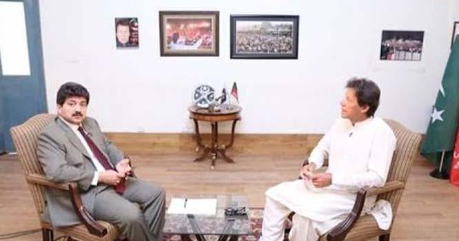 حامد میر نے عمران خان کو ان کی کہی ہوئی بعد یاد دلا دی