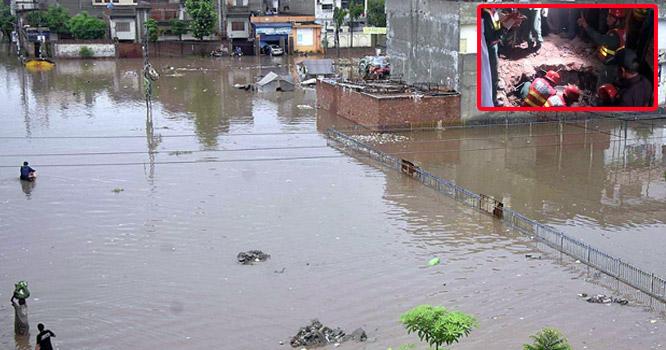 لاہور: کوٹ عبدالمالک  میں بارش سے گھر کی چھت  گر گئی،5بچوں سمیت 7 افراد جاں بحق