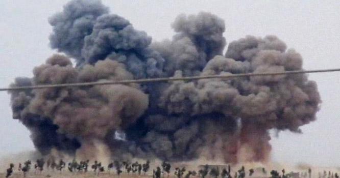 شام ، روسی طیاروں کی بمباری،11افراد ہلاک