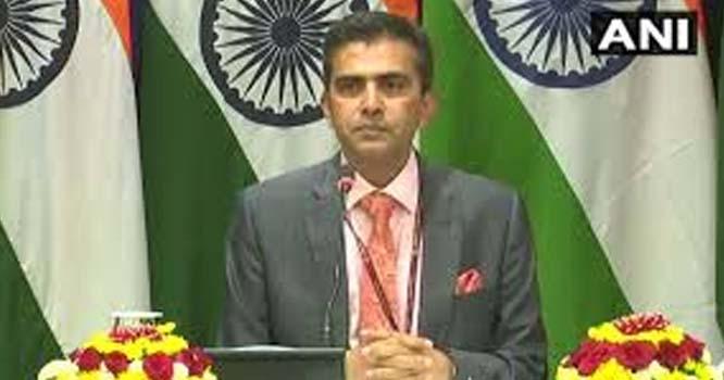 مسئلہ کشمیر پر کسی بھی تیسرے ملک کی ثالثی قبول نہیں، بھارت
