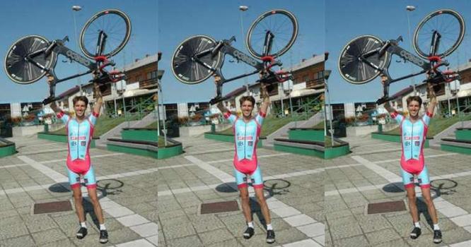ہنگری کے شہری نے سائیکل پر 24 گھنٹوں میں 7 ممالک کا سفر کر کے نیا عالمی ..