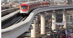 اورنج لائن میٹرو بس منصوبے کی تکمیل کےلئے اگلے سال جنوری تک کی مہلت