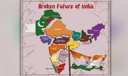 خالصتان تحریک کے حامی بھارت کا مستقبل کا نقشہ سامنے لے آئے