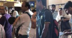 عمران خان کی ہمشیرہ علیمہ خان نے ائیرپورٹ پر قانون کی دھجیاں اڑا دیں