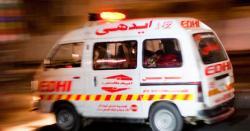 حافظ آباد میں تیز رفتار بس کھائی میں گرنے سے 4افراد جاں بحق