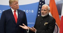 ڈونلڈ ٹرمپ کا بھارتی وزیراعظم سے فون پر رابطہ