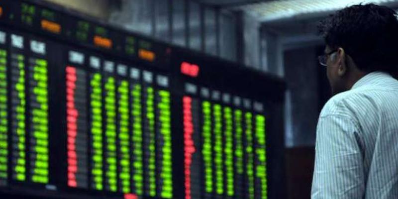 پاکستان اسٹاک ایکس چینج میں مندی،سرمایہ کاروں کے مزیداربوں ڈوب گئے،انڈیکس متعددنفسیاتی حدوں سے بھی گرگیا