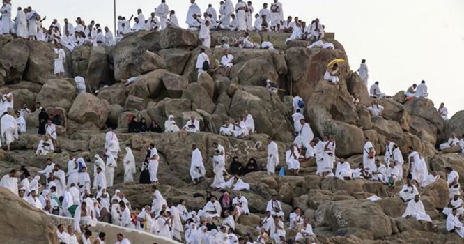 وقوف عرفہ کی ادائیگی آج ہوگی،20 لاکھ سے زائد عازمین حج میدان عرفات پہنچ گئے