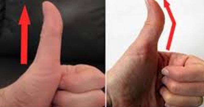 آپ کا انگوٹھا اِس طرح مُڑا ہوا ہے یا سیدھا ؟ اِس کا زندگی پر کیا اثرات مرتب ہوتے ہیں؟ انتہائی دلچسپ حقائق