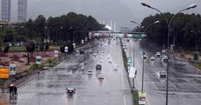 پنجاب اور خیبر پختونخوا کے مختلف علاقوں میں بھی بارش کا امکان