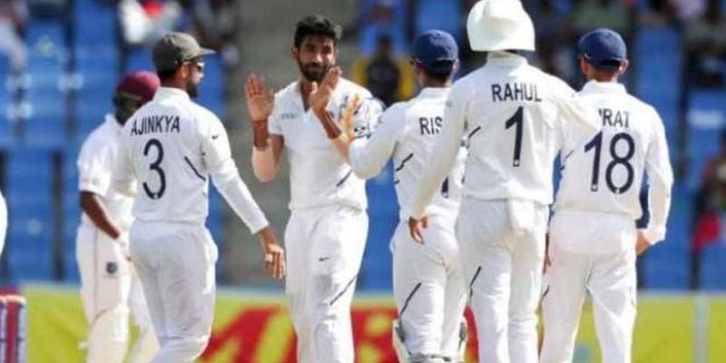 ورلڈ ٹیسٹ چیمپئن شپ، بھارت نے ویسٹ انڈین ٹیم کو پہلے ٹیسٹ میچ میں ہرا کر سیریز میں 1-0 کی برتری حاصل کرلی