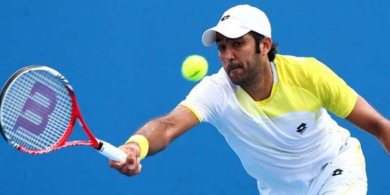 کشمیریوں سے یکجہتی کا اظہار ،اعصام الحق نے امریکہ میں جاری یو ایس اوپن ٹینس چمپئن شپ میں ریڈ آرم بینڈ پہن کر میچ کھیلا