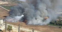 حزب اللہ کا اسرائیلی ٹینک تباہ کرنے کا دعویٰ، اسرائیل کی بمباری