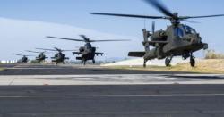 پاکستان سے ملحق بھارتی علاقے میں 8 اپاچی ہیلی کاپٹرز تعینات