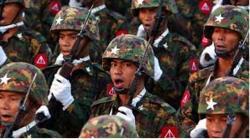مسلمانوں کے قاتل برمی فوج کے کئی جرنیل کورٹ مارشل