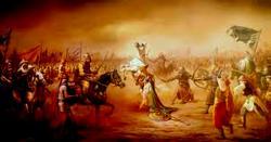 حیدر کرار کا یہ فرزند جس طرف تلوار لے کر نکلتا یزیدی لشکر خوفزدہ بھیڑوں کی طرح آگے بھاگنے لگتا