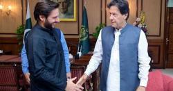 آفریدی کا قوم کو سرپرائز، عمران خان کے حوالے سے بڑا فیصلہ کر لیا