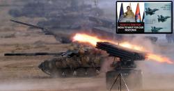 پاک فوج کی جانب سے بھارت کے انتہائی خطرناک بھاری ہتھیار وں  سمیت متعدد بھارتی فوجی ہلاک