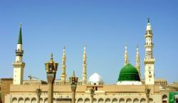 مسجد نبویﷺ میں پاکستانی بزرگ نارنجی رنگ کا احرام پہن کر پہنچ گیا