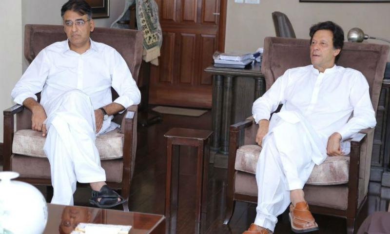 وزیراعظم سے اسد عمر کی ملاقات، معاشی صورتحال پر گفتگو