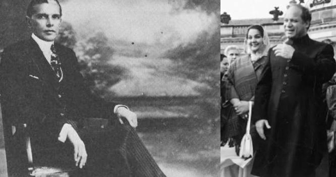 محترمہ کلثوم نواز اور نوا زشریف کی بانی پاکستان قائد اعظم محمد علی جناح ؒ کیساتھ عجیب و غریب مماثلت
