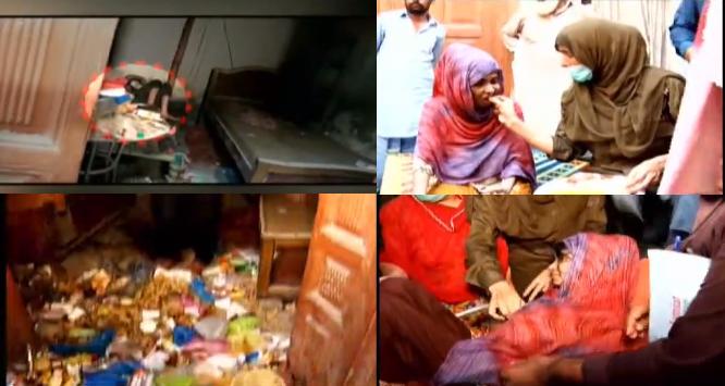 جائیداد کی لالچ میں 2 بھائیوں نے سگی بہن کو 20 سال تک ایک کمرے میں بند رکھا