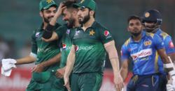سری لنکا نے تیسرے ون ڈے میں پاکستان کو میچ جیتنے کےلئے 298رنز کا ہدف دے دیا