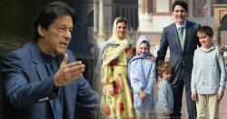 عمران خان کی تقریر سے متاثر ہو کینیڈین وزیر اعظم اور ان کی اہلیہ کا ایسا اقدام کہ مغربی دنیا میں بھونچال آگیا
