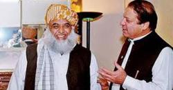 نوازشریف نے مولانا فضل الرحمان کواسلام آباد مارچ بارے مشورے دے ڈالے