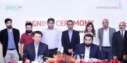زونگ 4Gاور انفراشیر کے مابین نیٹ ورک میں توسیع کا معائدہ طے پایا