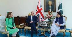 برطانوی شاہی جوڑے کی وزیراعظم عمران خان اور صدر پا کستان سے ملاقات