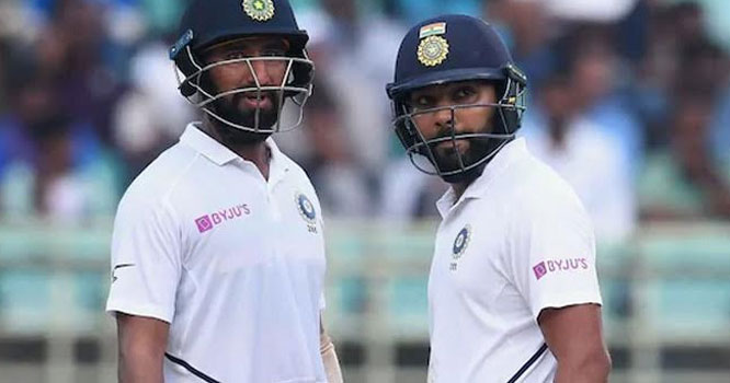 بیٹنگ کے دوران بھارتی کھلاڑی لڑ پڑے ،گالیاں دیناشروع