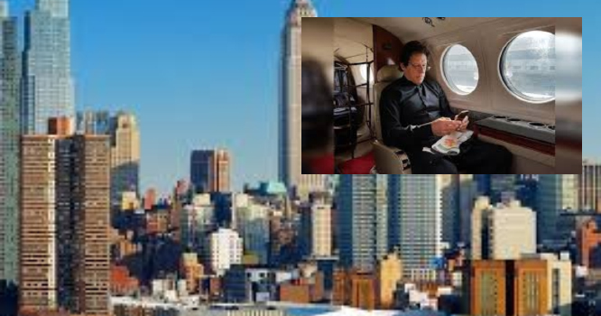 عمران خان کے طیارے کی نیویارک واپسی کی وجہ سامنے آگئی