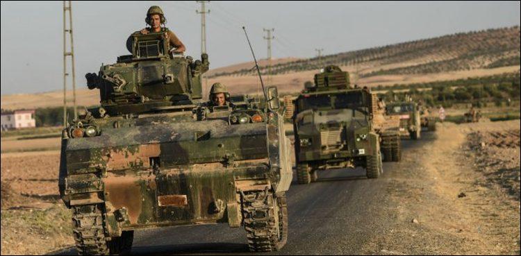 ترک آپریشن کے نتیجے میں 673سے زائد کرد ملیشیا کےدہشت گرد ہلاک