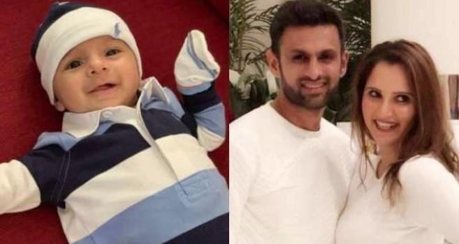 ثانیہ مرزا اور شعیب ملک کا بیٹا ایک سال کا ہوگیا