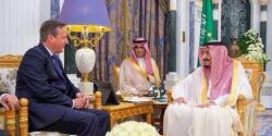 برطانیہ کے سابق وزیراعظم ڈیوڈ کیمرون کی شاہ سلمان سے ملاقات
