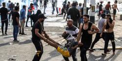 صدام حکومت خاتمے کے بعد بغداد کا سب سے بڑا مظاہرہ، تین افراد ہلاک