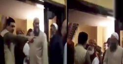 بطور احتجاج جا رہا ہوں، دھرنے میں شرکت کیلئے آنے والا ساتھی  مولانا سے ناراض،  مولانا کی ساتھی کو منانے کی ویڈیوسامنے آگئی