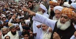 مولانا کے پلان بی کے باوجود دھرنا ختم، جے یو آئی کا دھرناختم ہونے کی تاریخ کا اعلان کردیا گیا