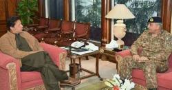 وزیر اعظم پاکستان اور پاک فوج کے سپہ سالارکے مابین اہم ملاقات