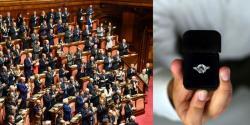 رکن اسمبلی کی پارلیمنٹ میں بیٹھی خاتون کو شادی کی پیشکش