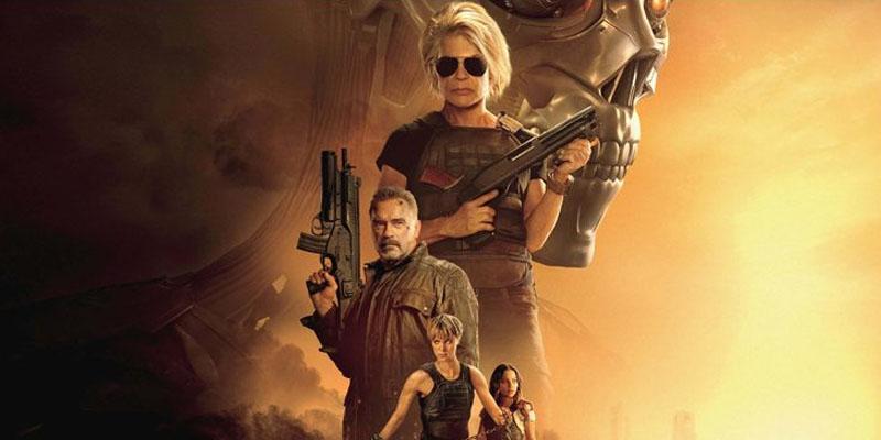 امریکی باکس آفس پر ایکشن سے بھر پور فلم ''ٹرمینیٹر ڈارک فیٹ'' کی ایک بار پھر حکمرانی قائم