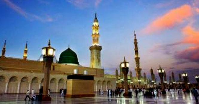 حضور نبی کریم ﷺ کی میلاد پاک کی برکات سے ساری کائنات جگمگا رہی ہے