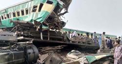 وفاقی وزیر ریلوے شیخ رشید احمد کا  فوری حادثے کی انکوائری کا حکم