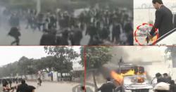 پنجاب انسٹی ٹیوٹ آف کارڈیالوجی پر مسلح حملہ ، ادھا دھند گولیاں برسا دیں ، کئی مریض جاں بحق، پنجاب رینجرز پہنچ گئی