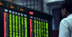 کاروبار کے اختتام پر ڈالر سستا ہو گیا اور سٹاک مارکیٹ 17 ماہ کی بلند ترین سطح پر پہنچ گئی ، خوشخبری